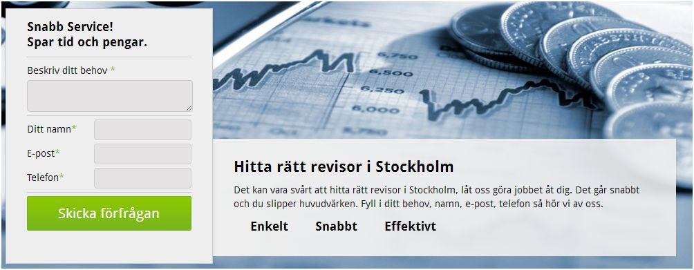 revisor stockholm